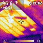 Infrared Investigation Finds Missing Insulation